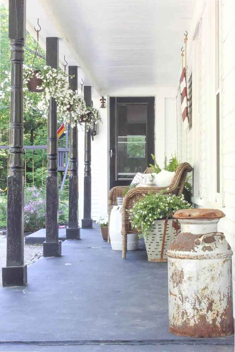 47 amazing summer front porch seating ideas