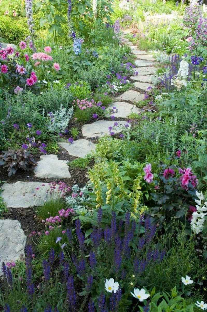 47 beautiful front yard cottage garden inspiration ideas