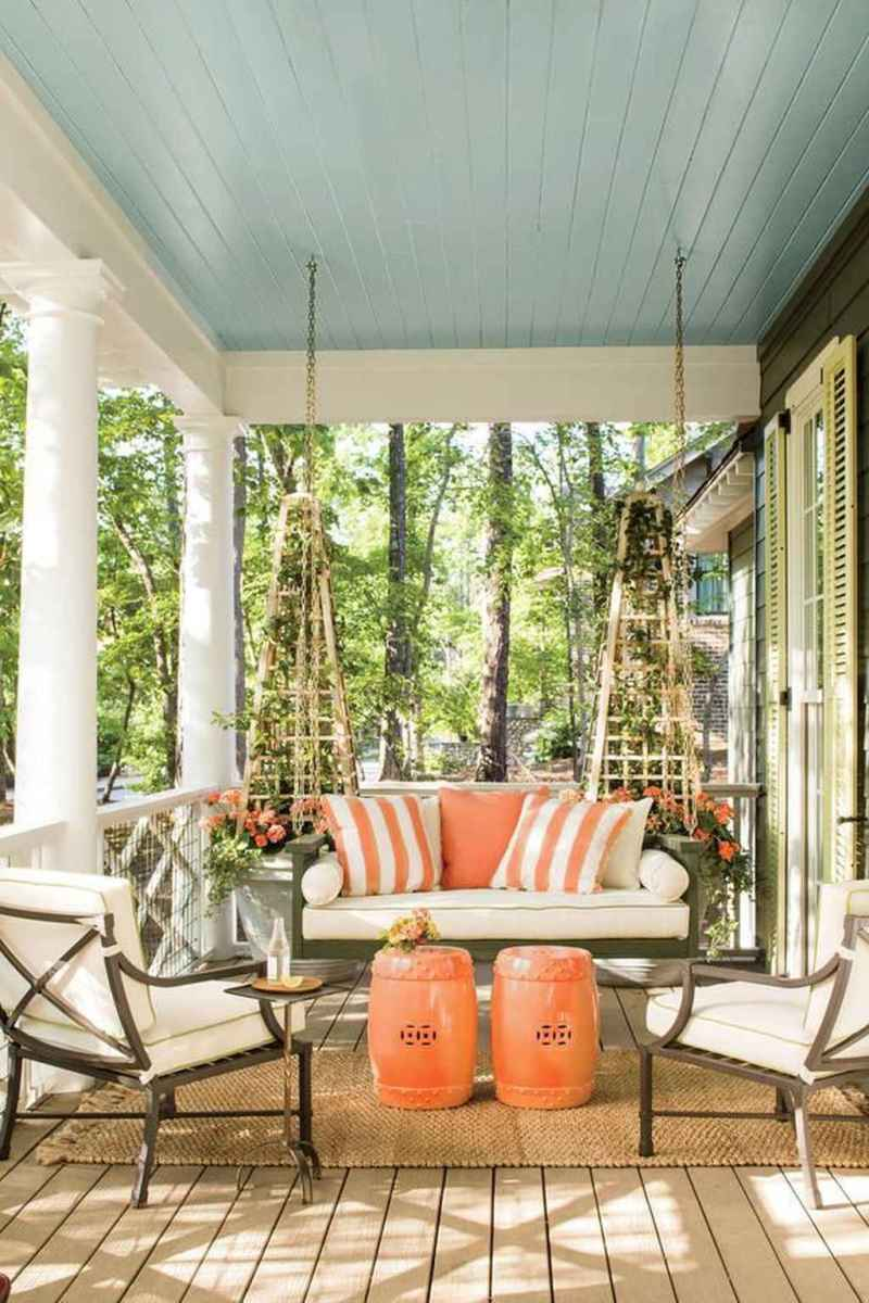 60 amazing summer front porch seating ideas
