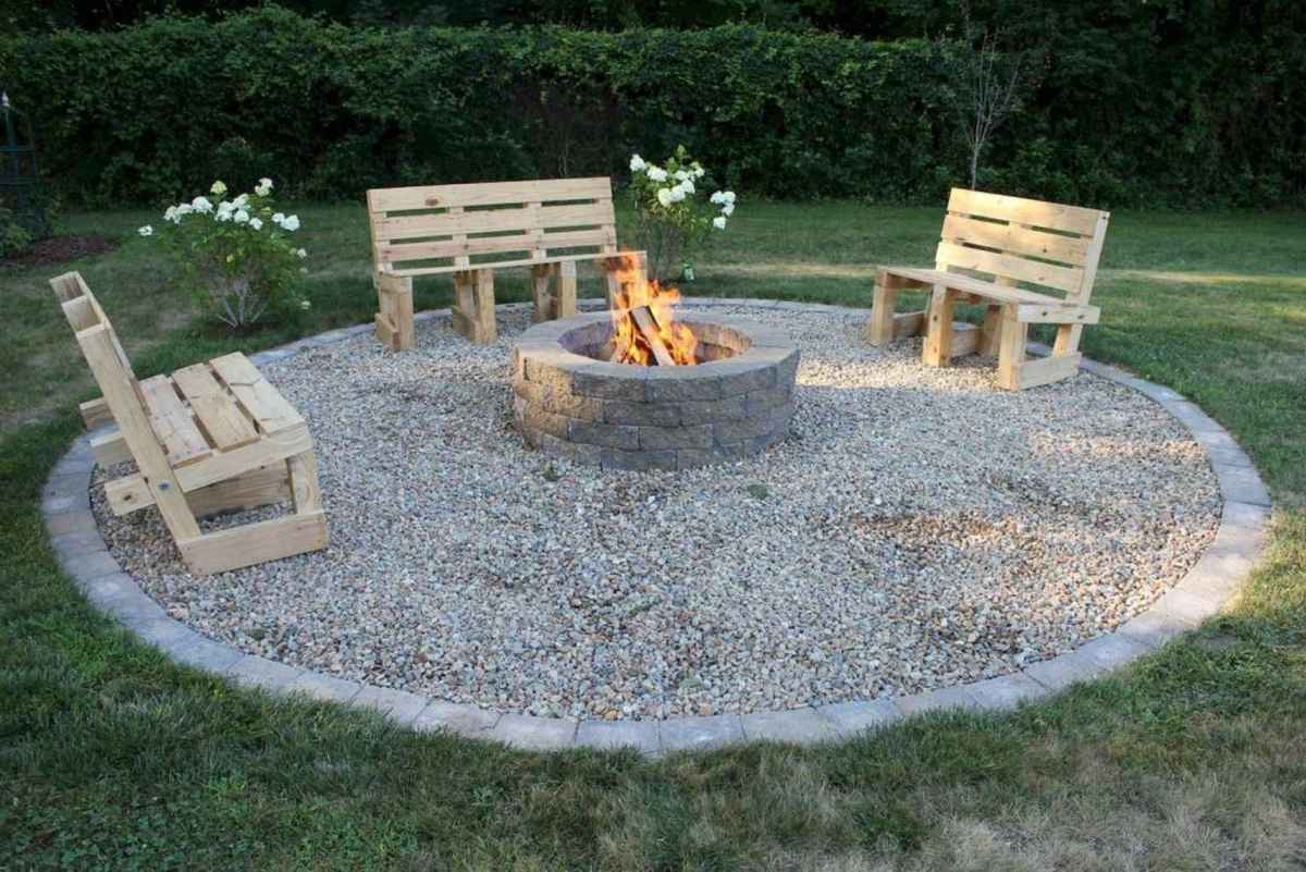 66 cozy outdoor fire pit seating design ideas for backyard