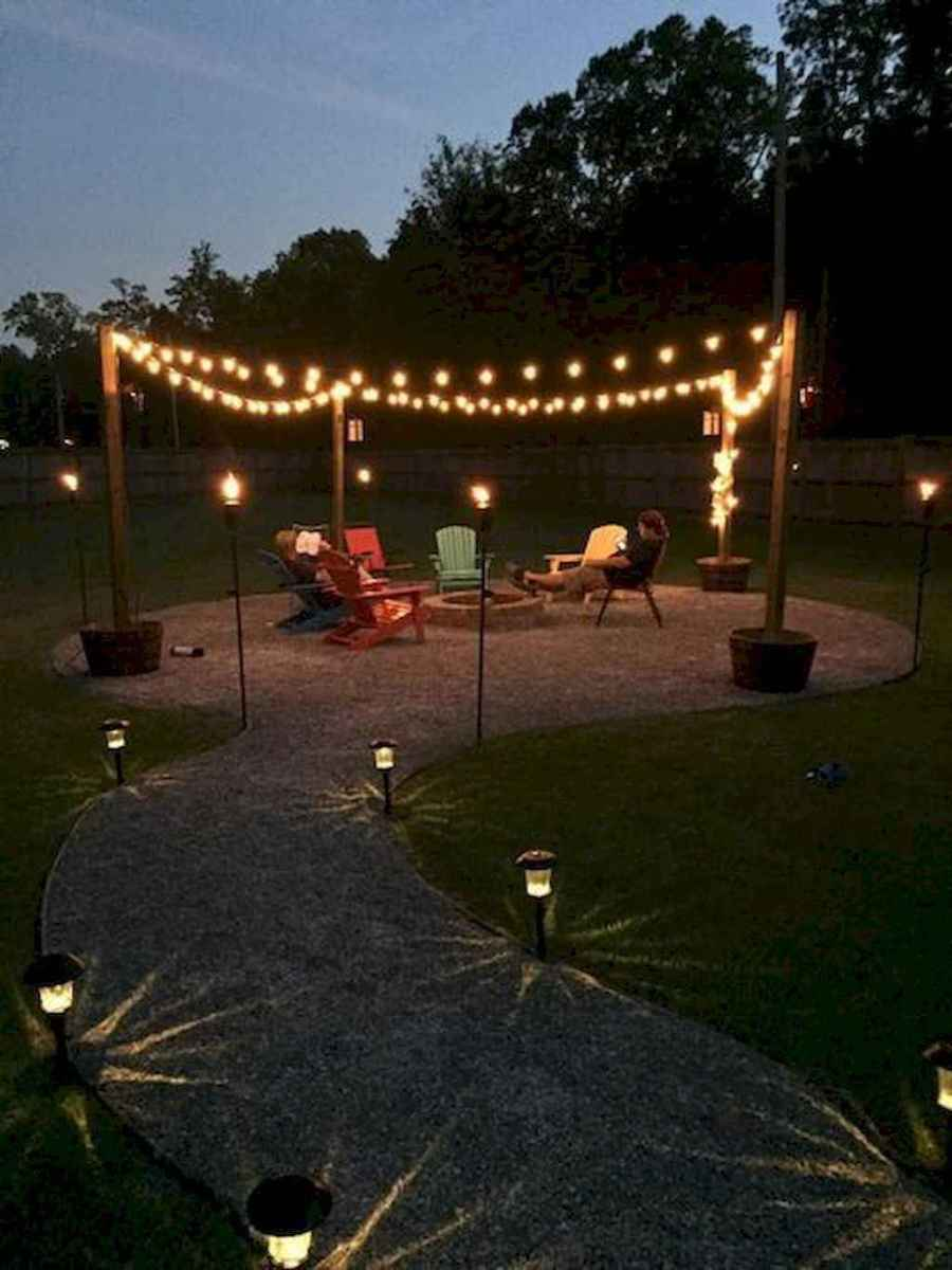 67 cozy outdoor fire pit seating design ideas for backyard