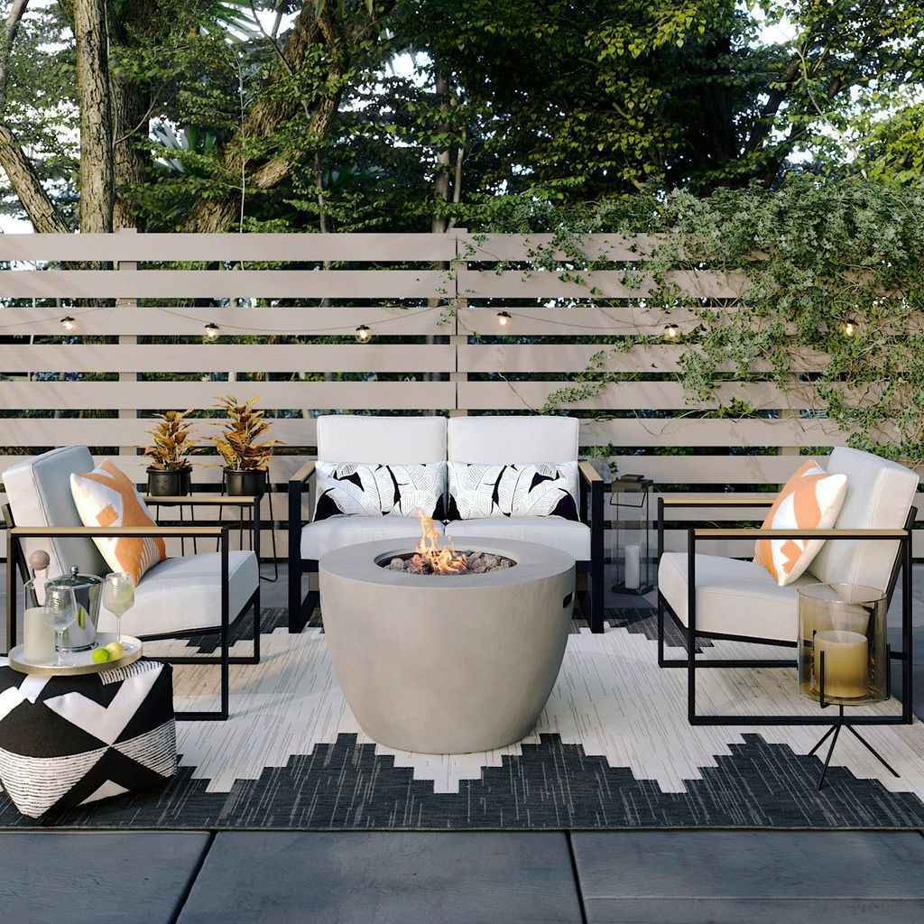 72 cozy outdoor fire pit seating design ideas for backyard