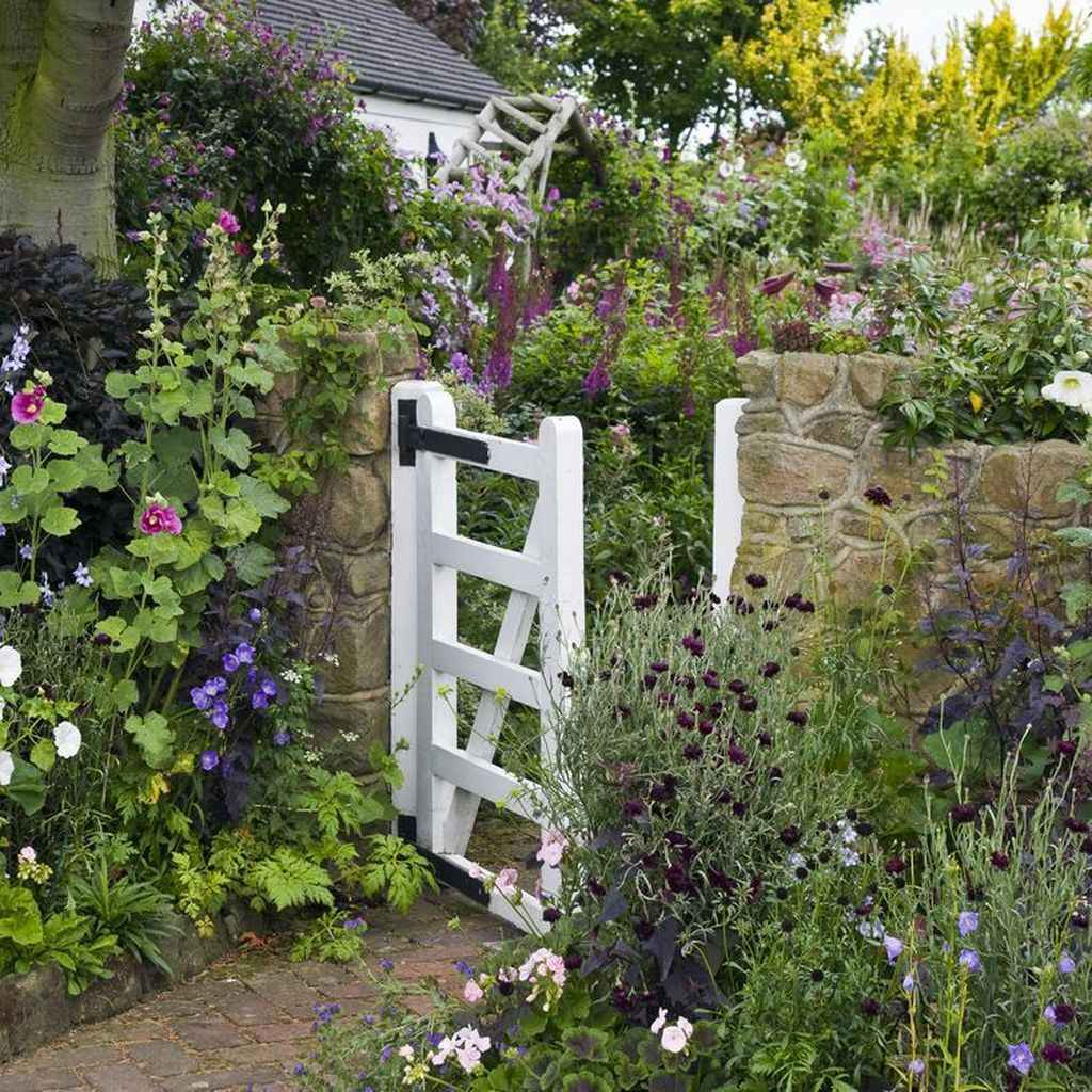 78 beautiful front yard cottage garden inspiration ideas