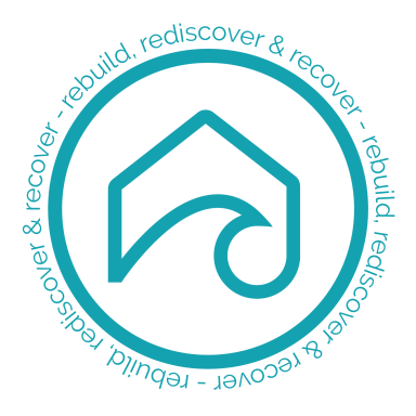 Surfside structured sober living blue logo