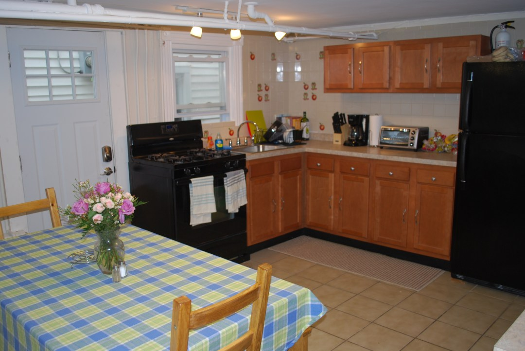 structured sober living kitchen