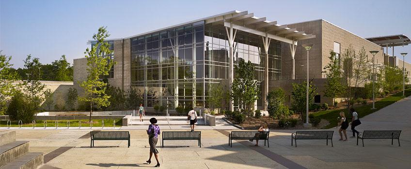 Sober college campus-center-back