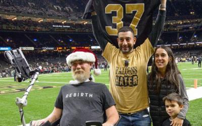 Former NFL Star, Current ALS Fighter, Receives Congressional Gold Medal