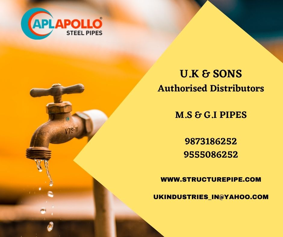 Rectangular Hollow Sections -APL Apollo Hollow Sections- Dealers-distributors-delhi-punjab-haryana-jammu-kashmir-leh-ladakh-uttrakhand-u.k&sons-near me