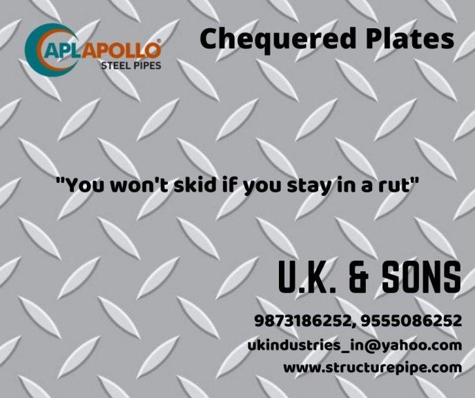 apl apollo chequered plates, checkered plates, dealers, distributors, in India, Delhi, UP, Haryana, jammu, kashmir, uttrakhand.