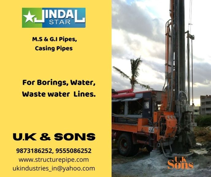 Jindal GI Pipe Dealers - U.K & Sons
