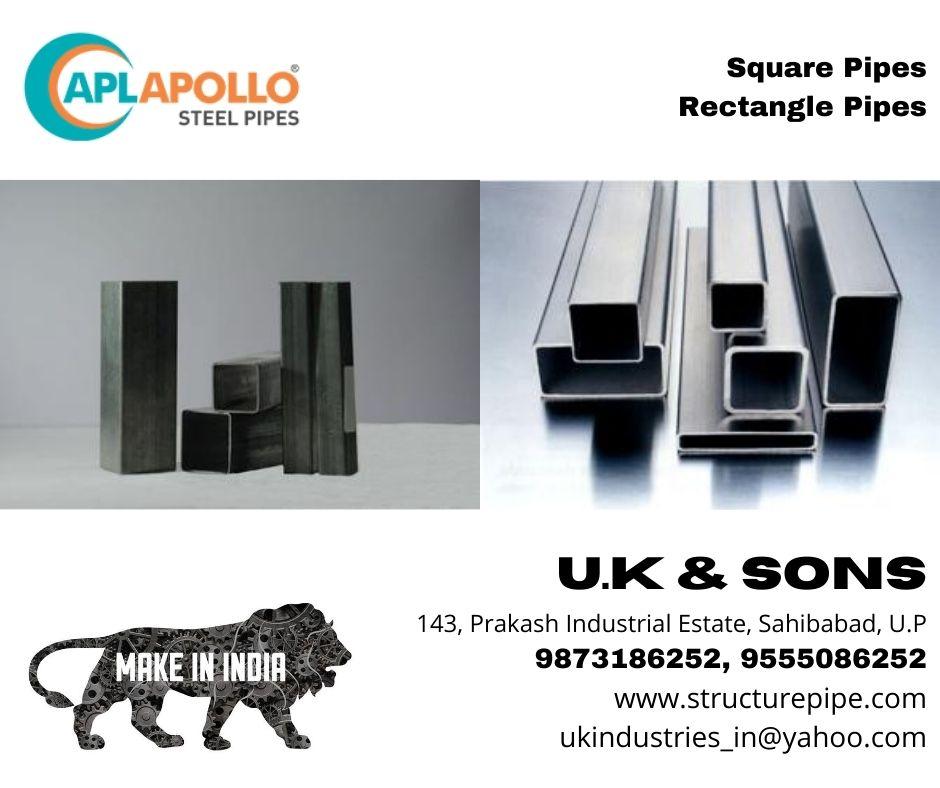 apollo square pipe 4inch
