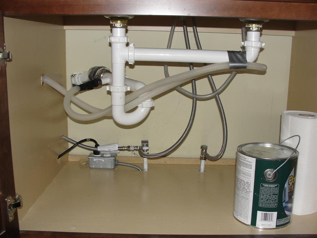 kitchen sink drain pipe storage cabinets for bathroom plumbing ptrap and jbend household hints wrong side of trap