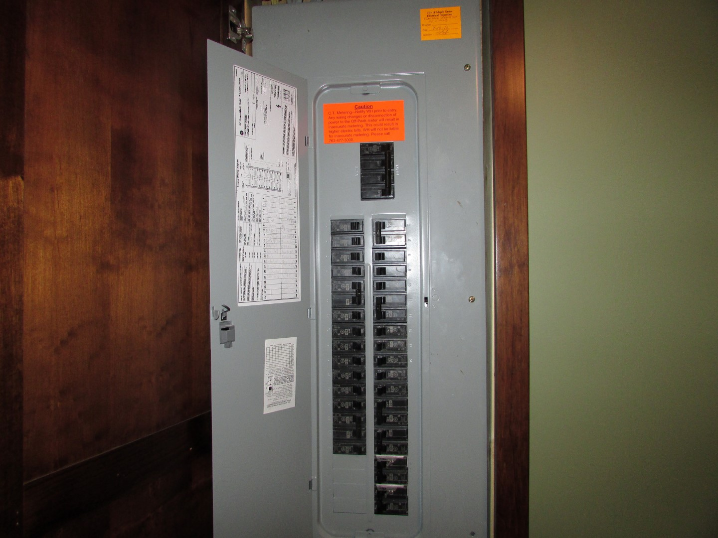 hight resolution of i was dumbfounded to find this relatively new panel without a single afci circuit breaker so i followed up with the seller they explained to me that they