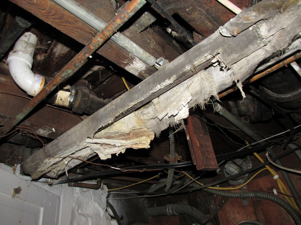Asbestos in homes  American Society of Home Inspectors ASHI