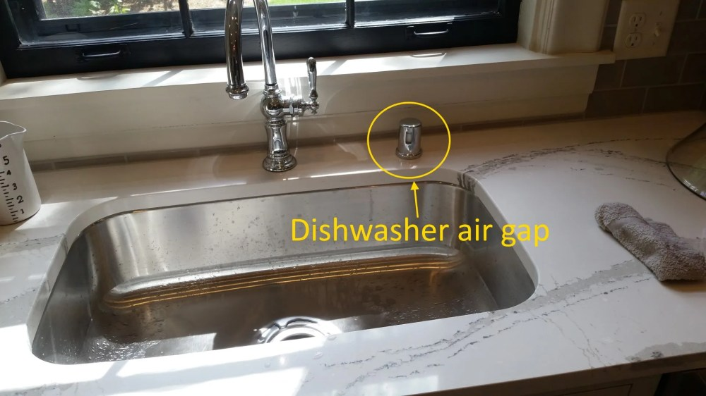 medium resolution of dishwasher air gap