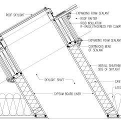House Insulation Diagram John Deere 4440 Wiring Skylight Shaft Structure Tech Home Inspections