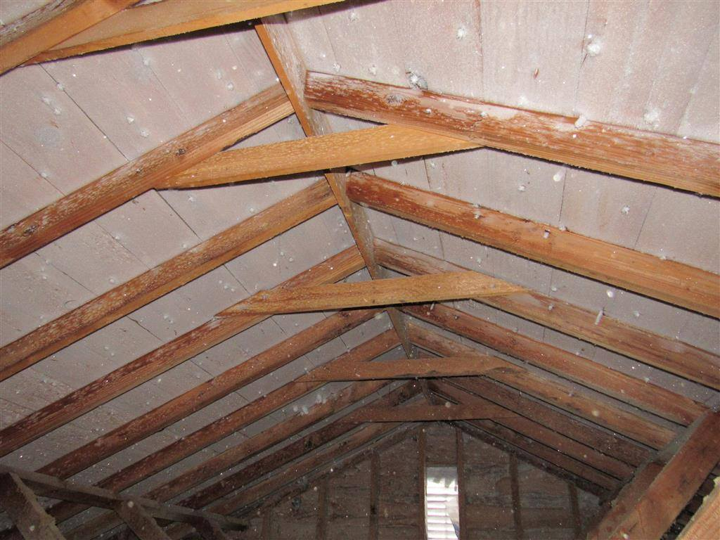 hight resolution of frost in attics why it s there and how to fix it