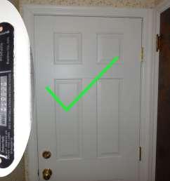 six panel fire door [ 1440 x 1080 Pixel ]