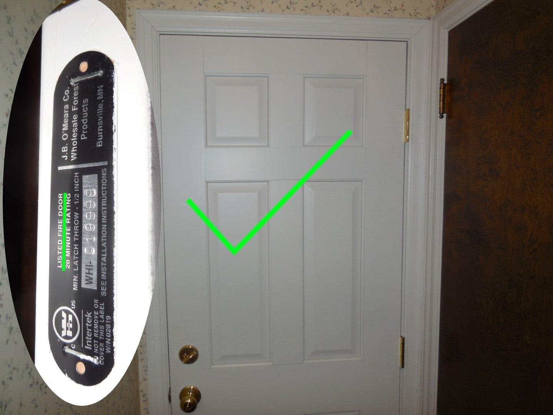 hight resolution of six panel fire door