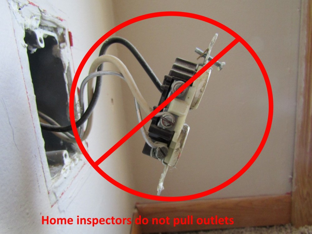 medium resolution of  i can t comment on the rest of the wiring home inspectors do not pull outlets and switches out of the wall because there s a lot that could go wrong