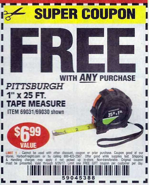 Harbor Freight Free Coupons Struggleville