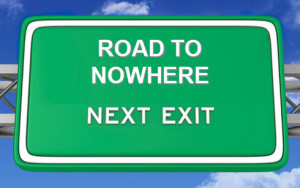 road-to-nowhere-interstate-sign