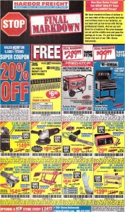 Harbor Freight 01-22-2017