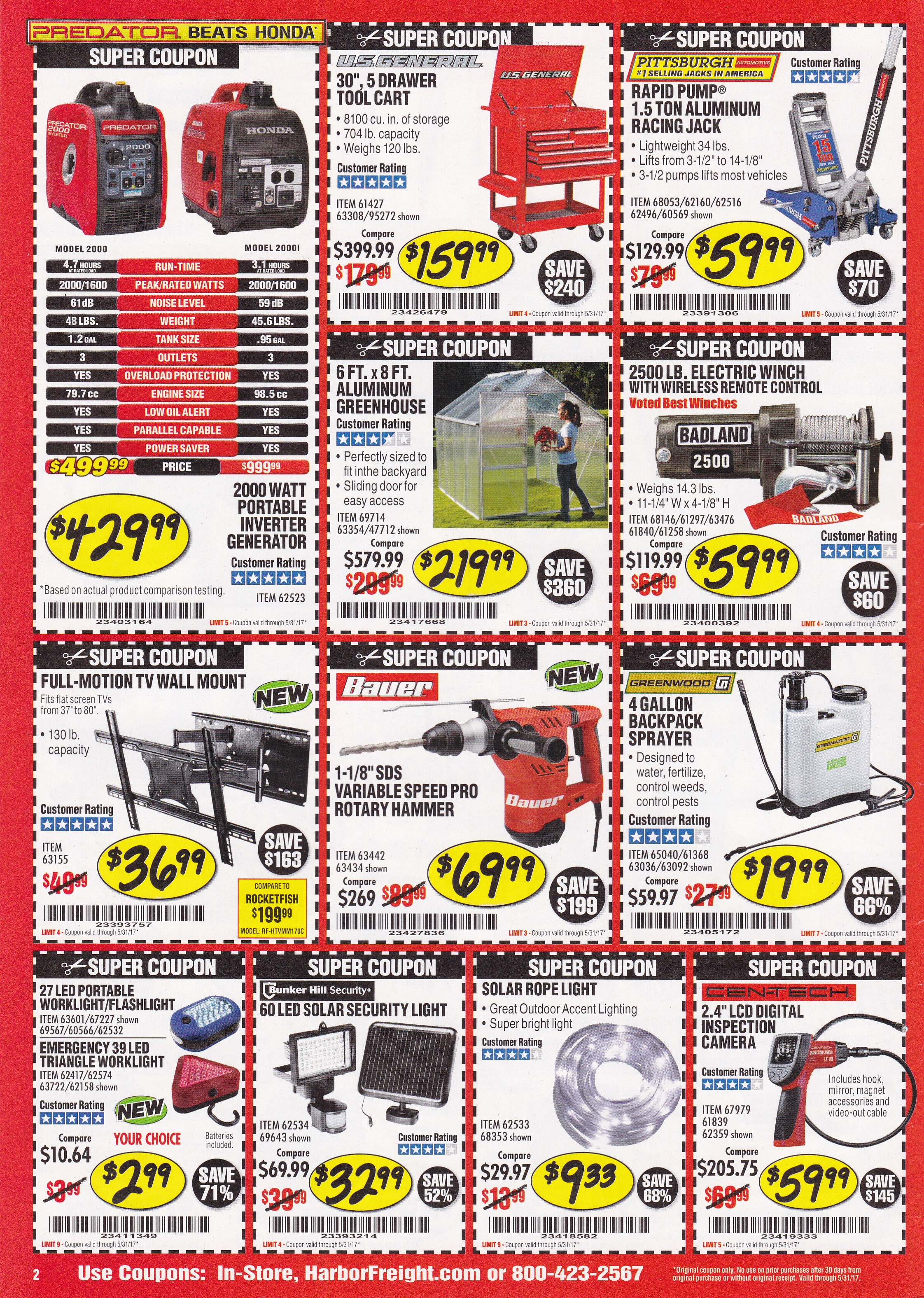 Harbor Freight 67979