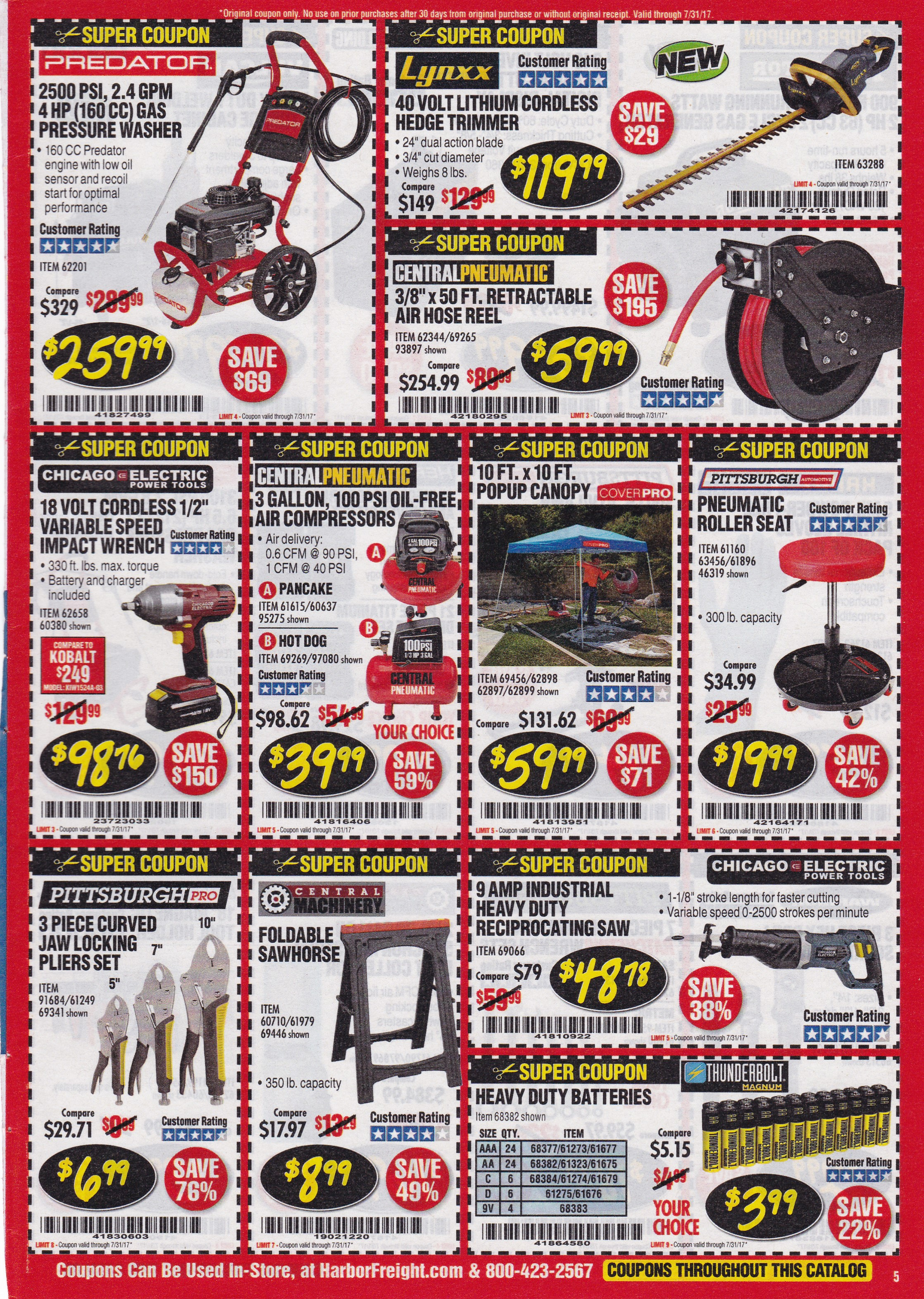 Monthly harbor freight super coupons expiring 73117 struggleville didnt find the coupon you needed use our harbor freight custom search tool to find what you are looking for fandeluxe Gallery