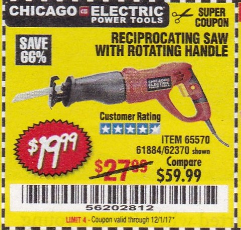 Harbor Freight Coupons Expiring 12/1/17 – Struggleville
