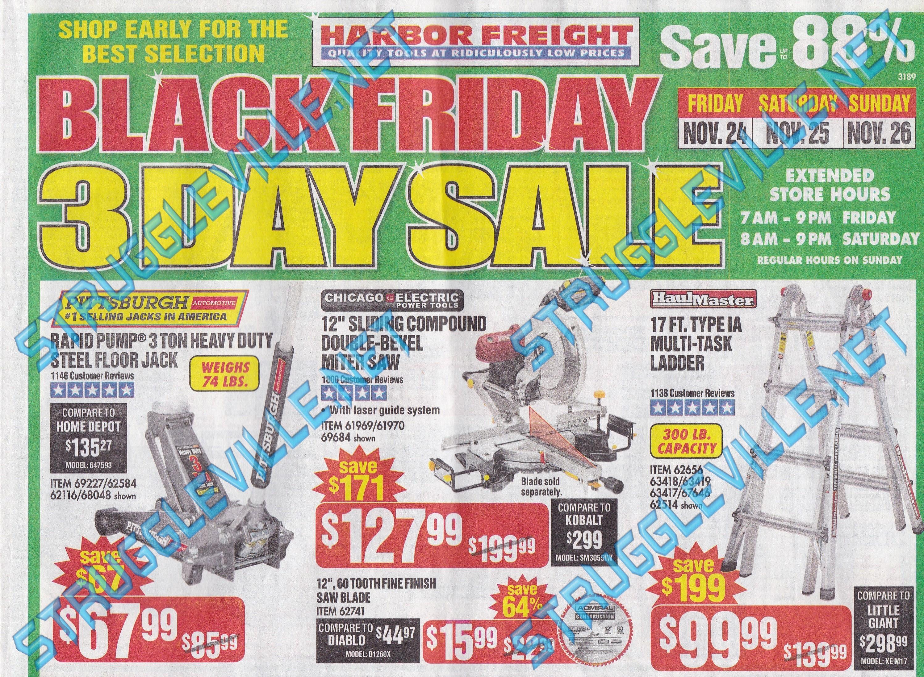 Groovy Harbor Freight Black Friday Ad 2017 Struggleville Uwap Interior Chair Design Uwaporg