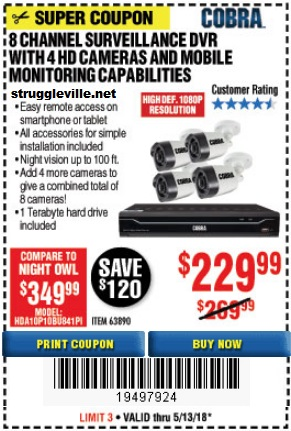 Harbor Freight Price Tracking – 37 POWER Coupons – Expires 5/13/18