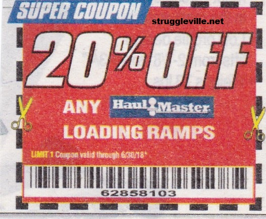 Harbor freight coupons 20 off - Go go natural