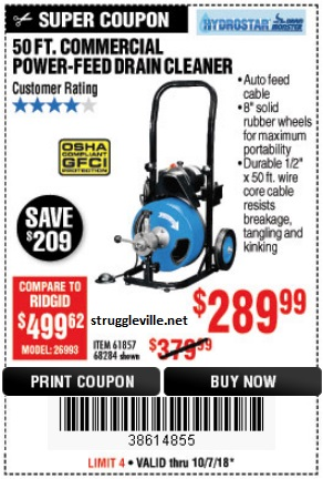 Harbor Freight 60 Price Drop Some First Time Coupons Expire 10 7 18