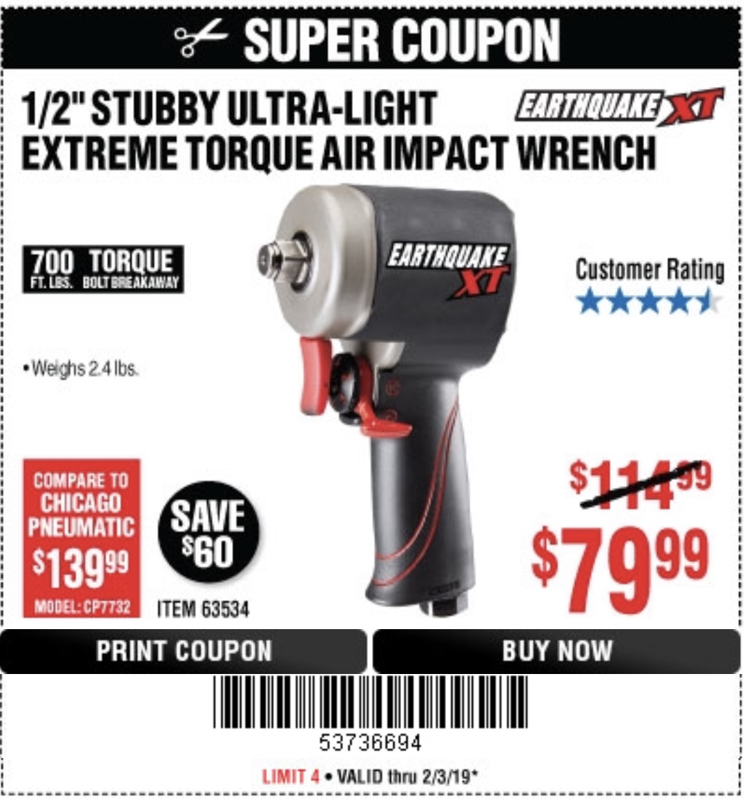 Harbor Freight Coupons: You'll like this! Superior Air Compressors