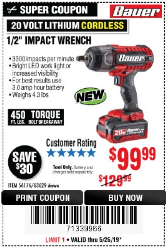 Harbor Freight: 📢 NEW PRODUCT ALERT: The Power of Bauer Now for