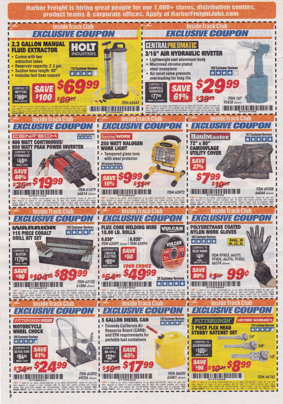 Like Harbor Freight Tools coupons? Try these...