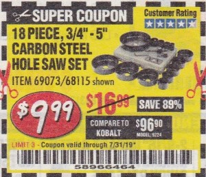 Over 90 MORE New Harbor Freight Coupons! – Struggleville