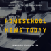 Homeschool News Today Podcast Art