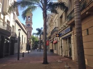 Ulice Montevidea ráno