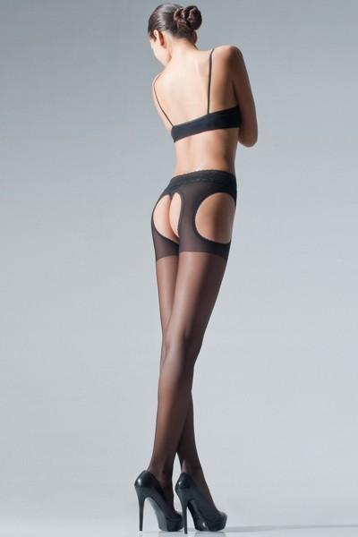 Strip Panty mit elegantem Taillenbund aus Spitze Chariss von Cecilia de Rafael, schwarz, Gr. S