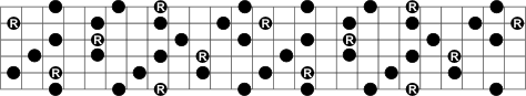 Full Dominant Seventh Arpeggio