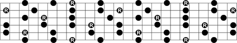 Full Minor Seventh Arpeggio