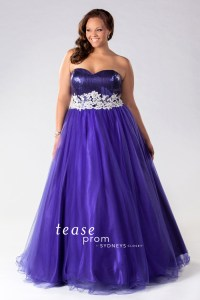 plus size ballgown prom dresses 2015