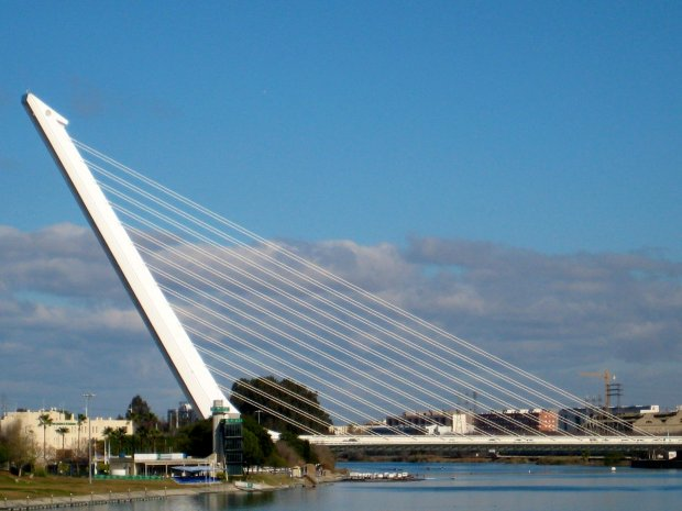 photo essay bridges of the world designed by internationally renowned architect santiago calatrava puente alamillo alamillo bridge was constructed for the 1992 expo world s fair in