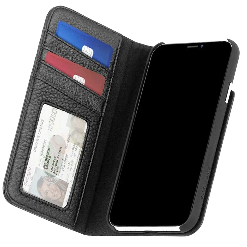 Case-Mate-Wallet-Folio-Case-for-iPhone-12-Pro-Max-(6.7)---(Black).-pic-3