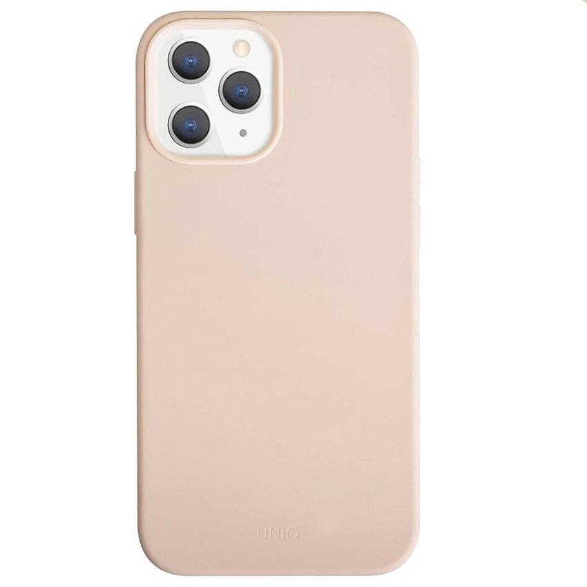 UNIQ-Lino-Hue-case-for-Apple-iPhone-12-Pro-Max-(6.7)---Blush-Pink
