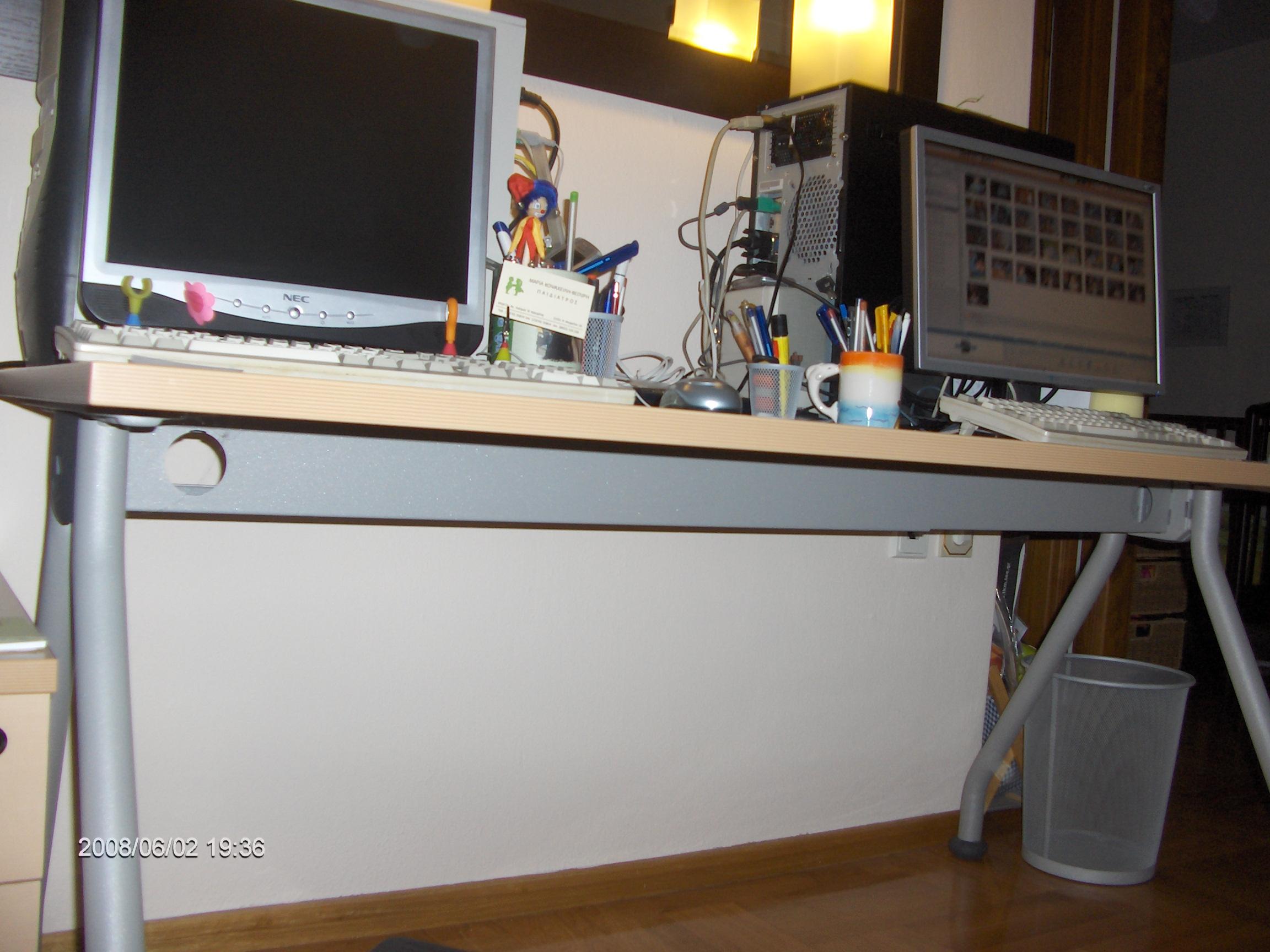 Under my desktop