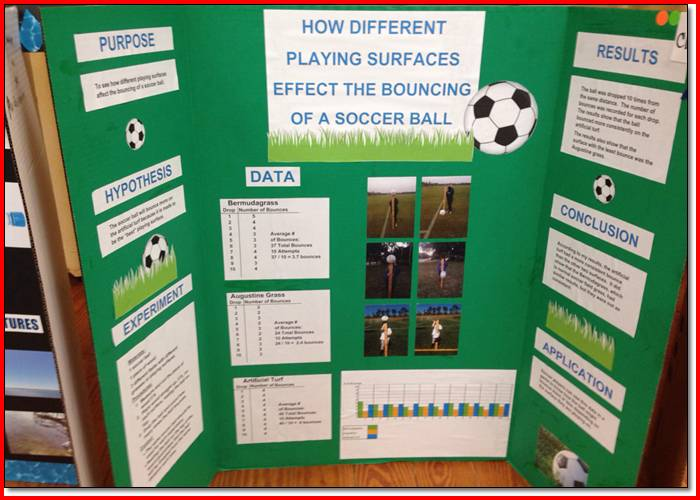 Science Fair Project Layouts Hospi Noiseworks Co
