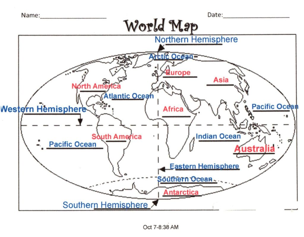 hight resolution of be able to label the world s continents be sure to use the revised copy that is posted